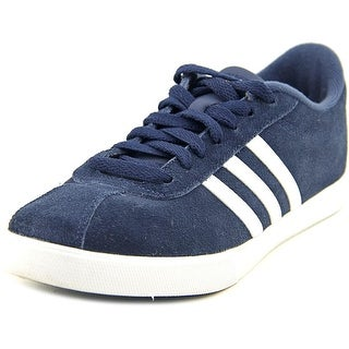 Adidas Courtset W Round Toe Suede Sneakers
