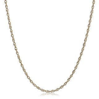 Eternity Gold Perfectina Chain Necklace In 14K Gold 20 Yellow