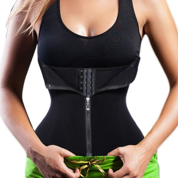 acb7c8f7e1d5c Shop Waist Cincher Tummy Fat Burning Fitness Body Shaper Corset ...