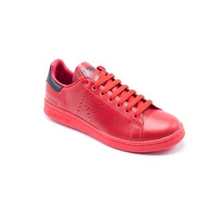 Adidas Raf Simons Unisex Stan Smith Red Sneaker (Option: 6.5)|https://ak1.ostkcdn.com/images/products/is/images/direct/07c4058a71f4b2a5ee2d38788295f0b75dc7da4a/Adidas-Raf-Simons-Unisex-Stan-Smith-Red-Sneaker.jpg?impolicy=medium