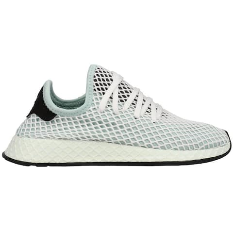 adidas Deerupt Runner Lace Up Womens Sneakers Shoes Casual - Blue