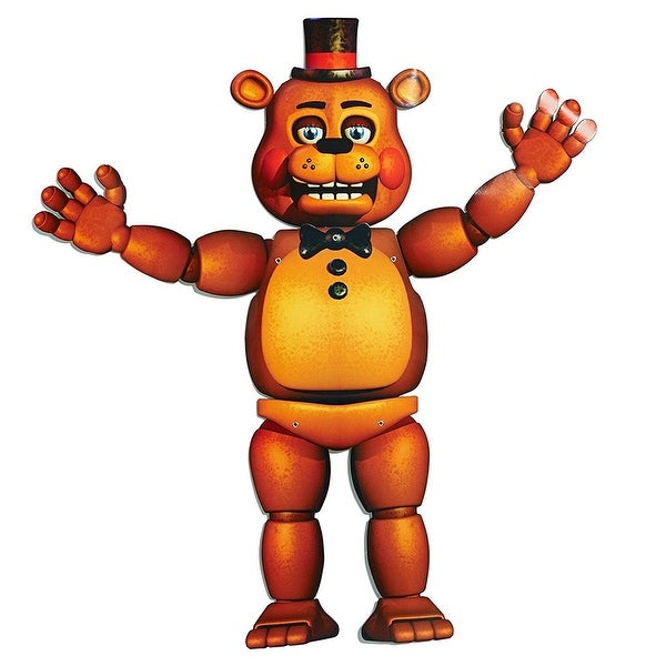 """Five Nights At Freddy's 35"""" Jointed Cutout: Freddy"""