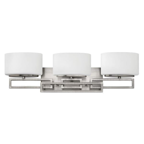 Hinkley Lighting 5103 3-Light Bathroom Vanity Light from the Lanza Collection - N/A