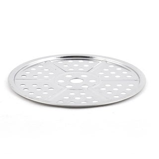 Cooking Baking Pan Steaming Food Stockpot Plate Steamer Rack 20cm Dia
