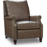 """Hooker Furniture RC362-084 36-1/2"""" Wide Leather Recliner from the Calvin Collection - aspen lenado taupe - n/a"""