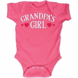 Grandpa's Girl Funny Infant One Piece