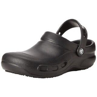 Crocs Unisex Bistro Clog, Black, M8/W10