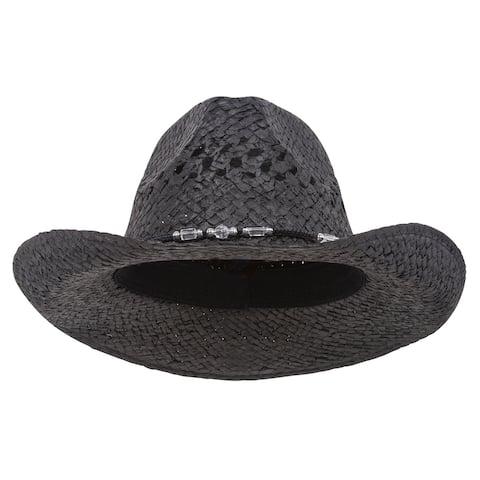 Outback Toyo Cowboy Hat-Black