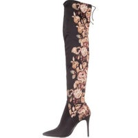 c11142fe04d Shop Jessica Simpson Womens Grizella Over-The-Knee Boots Embroidered ...