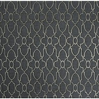 York Wallcoverings Y6130503 Reflections Donald Wallpaper - Dark Grey/Silver - N/A
