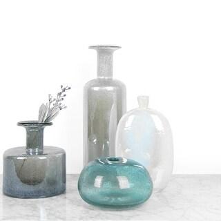 FloralGoods Hand Blown Bubble Glass Vase