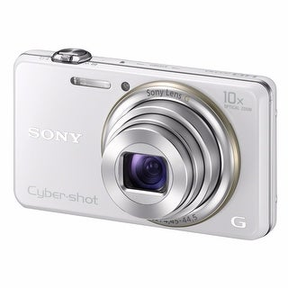 Sony Cyber-shot DSC-WX100 Digital Camera (White)