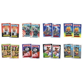 2016 GPK American as Apple Pie in Your Face: Halloween, Complete Set - multi