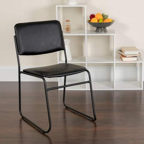 500 lb. Capacity High Density Stacking Chair with Sled Base