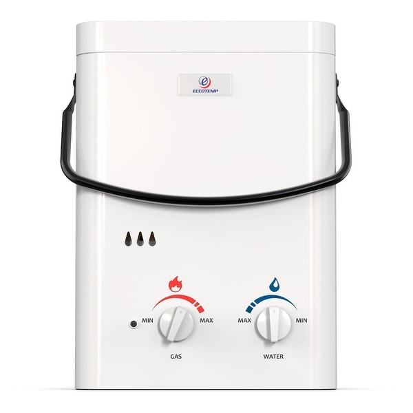 Eccotemp L5 Outdoor Portable Tankless Water Heater. Opens flyout.