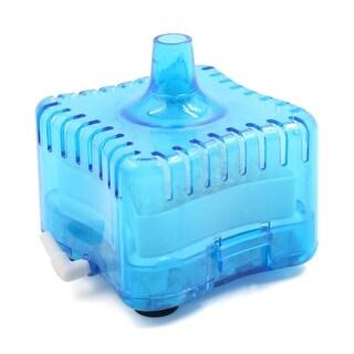 Blue Plastic Aquarium Fish Tank Internal Air Driven Corner Filter Cartridge