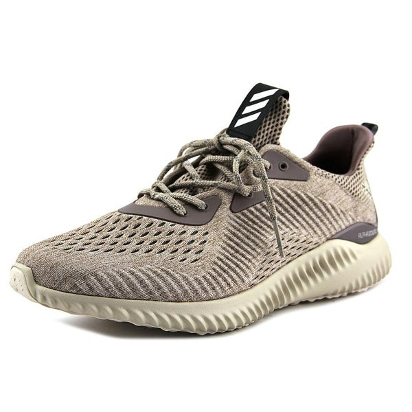 Adidas Alphabounce Engineered Mesh Men Round Toe Synthetic Tan Sneakers