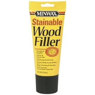 Minwax 42852 Stnable Wood Filler, 6 Oz, Natural