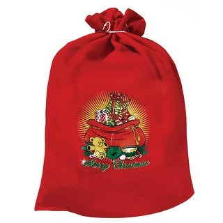 Santa Claus Toy Bag