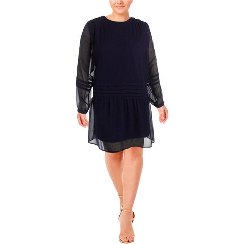 Junarose Womens Semi-Formal Dress Chiffon Ruffled