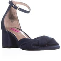 Betsey Johnson Ivee Ankle Strap Sandals, Denim