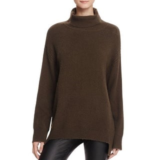 Bailey 44 Womens Turtleneck Sweater Stretch Ribbed Trim