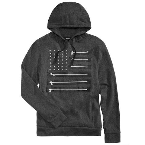 Ring Of Fire Mens Zipper Flag Hoodie Sweatshirt