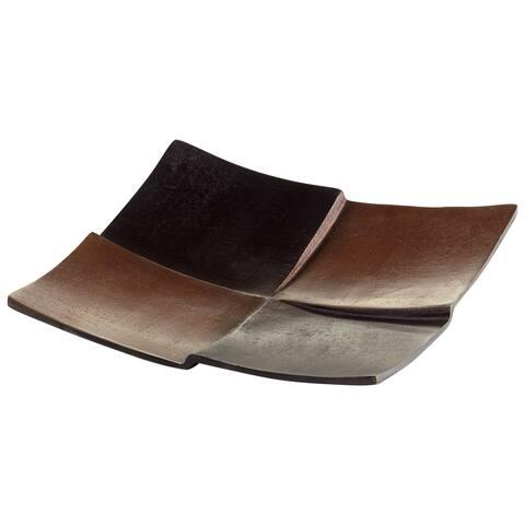 "Cyan Design 08910 Patchwork 9-1/4"" Wide Aluminum Tray"