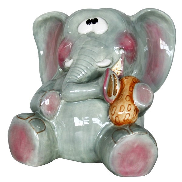 Elephant with Peanut Bank