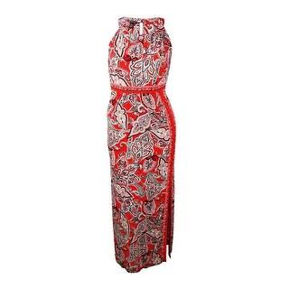 INC International Concepts Women's Keyhole Dress