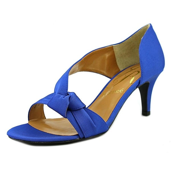 J. Renee Jaynnie Women Royal Blue Sandals