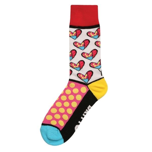 Giftcraft Women's Pop Art Socks - Brazilian Artist Romero Britto Inspired - One size