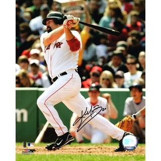 Kevin Youkilis Boston Red Sox Swinging Action 8x10 Photo