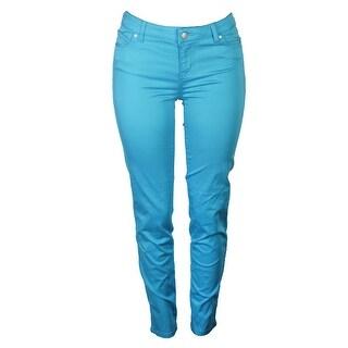 Celebrity Pink Juniors Scuba Blue Jayden Skinny Jeans