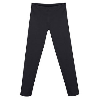 Hanes Girls' Cotton Stretch Leggings - Size - XS - Color - Black