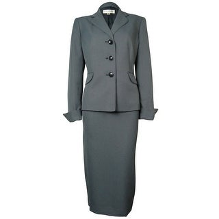 Evan Picone Women's Madison Avenue Skirt Suit