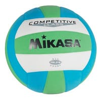 Mikasa VSL215 Volleyball, Green/Blue/White