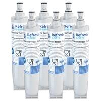 Replacement Water Filter For Kenmore 4392857 Refrigerator Water Filter - by Refresh (6 Pack)