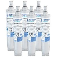 Replacement Water Filter For Whirlpool Filter 5 Refrigerator Water Filter - by Refresh (6 Pack)