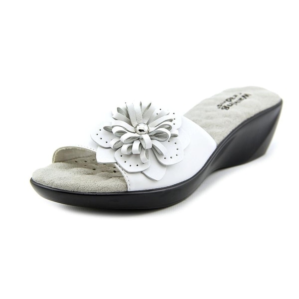 Walking Cradles Cuddle Women White Sandals