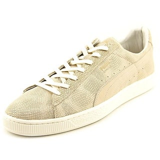 Puma States MII Men Round Toe Leather Tan Sneakers