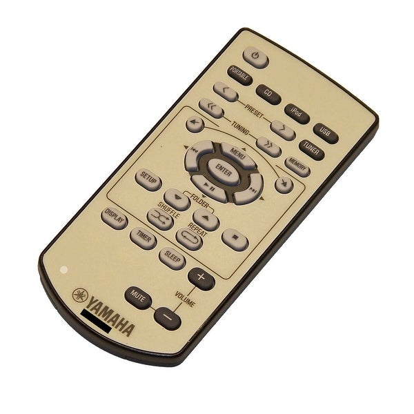 OEM Yamaha Remote Control Originally Shipped With: MCR140OR, MCR-140OR, MCR140PI, MCR-140PI, MCR140RE, MCR-140RE