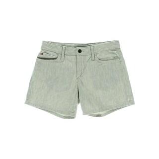 Joe's Womens Cotton Railroad Stripe Casual Shorts - 28