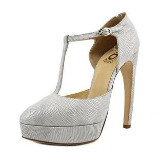 6 Taboo Y015 Women  Open Toe Synthetic White Platform Heel