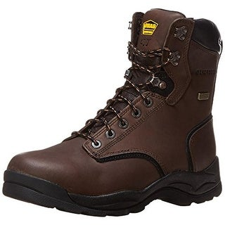 "Lacrosse Mens Quad Comfort 4x8"" Leather Waterproof Work Boots"