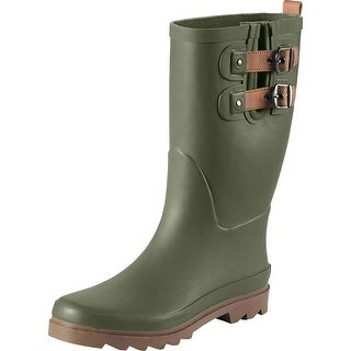 Legendary Whitetails Ladies Waters Edge Rain Boots - Army