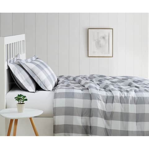 Truly Soft Everyday Buffalo Plaid Printed Comforter Set