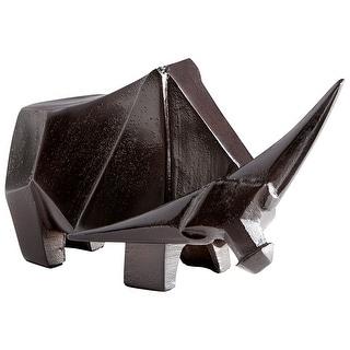 Cyan Design 09729  Javan Aluminum Cow Statue - Bronze