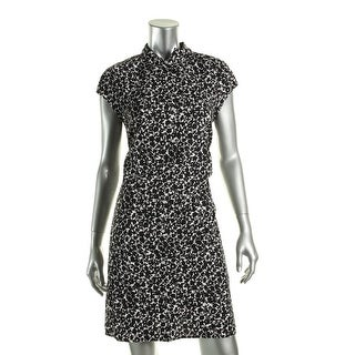 Tommy Hilfiger Womens Shirtdress Printed Belted