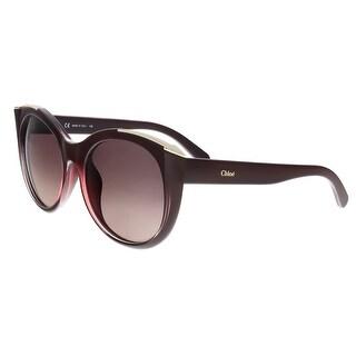 Chloe CE660S 603 Bordeaux Round Sunglasses - 55-19-140